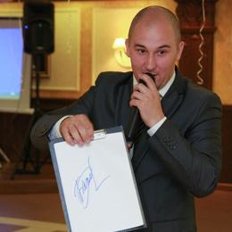 Ведущий свадьбы Роман Солин, ведущий на детский праздник