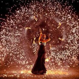 Огненное шоу TANDAVA, fire-show, fire show, фаер-шоу