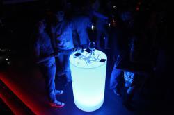 LED-мебель для мероприятий